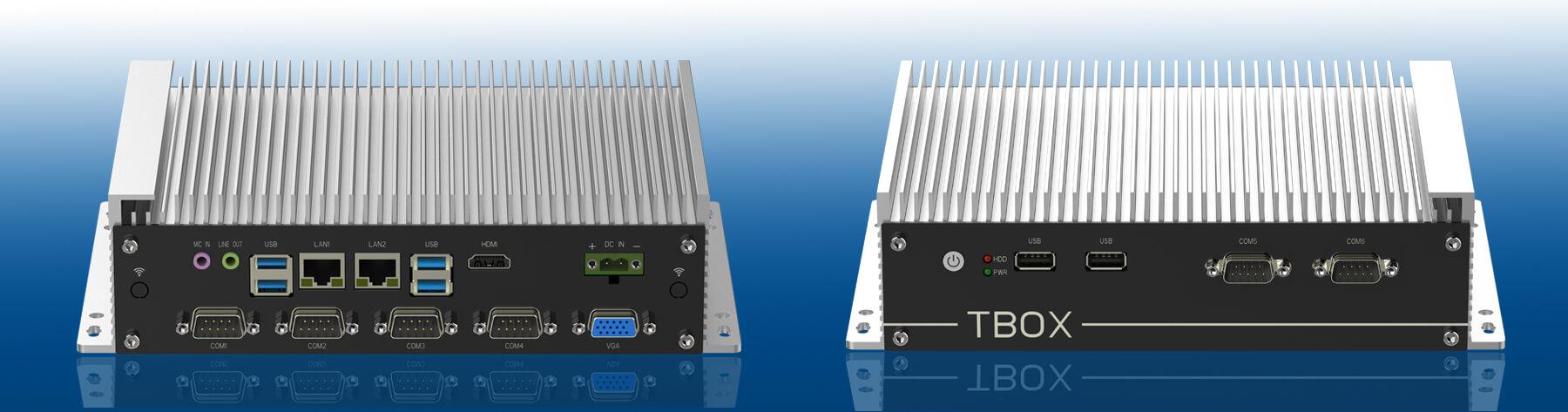 无风扇工控机用于航班信息显示系统